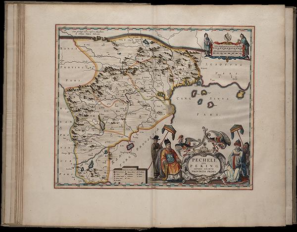 Blaeu's map of Beijing