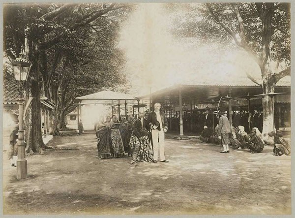 The crown prince of Yogyakarta