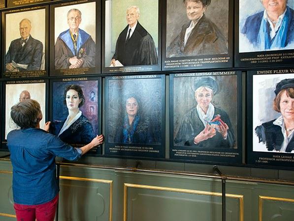 Vrouwen veroveren de Senaatskamer
